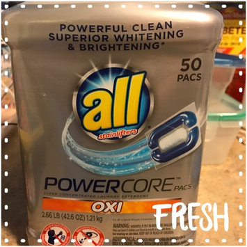 Photo of All® with Stainlifters Oxi PowerCore™ Pacs Super Concentrated Laundry Detergent 50 ct Canister uploaded by Grizette M.
