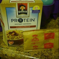 Quaker® Protein Instant Oatmeal Cranberry Almond uploaded by Gloria O.