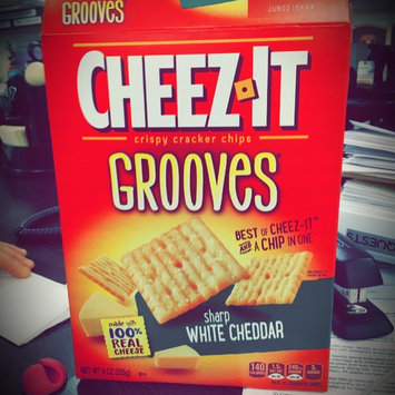 Cheez-It Grooves Zesty Cheddar Ranch Crackers 9 oz uploaded by Madeline Z.