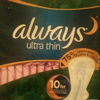 Always Ultra Thin Extra Heavy Overnight Pads - 34 Count uploaded by Steffi F.