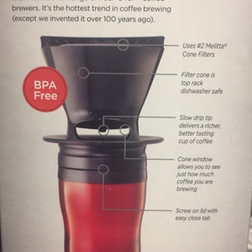 Photo of Melitta® Pour-Over™ Black Coffee Brewer with Travel Mug Box uploaded by Michael V.