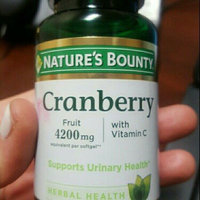 Nature's Bounty Cranberry 4200mg Plus Vitamin C Herbal Supplement Softgels - 250 CT uploaded by Sarah T.