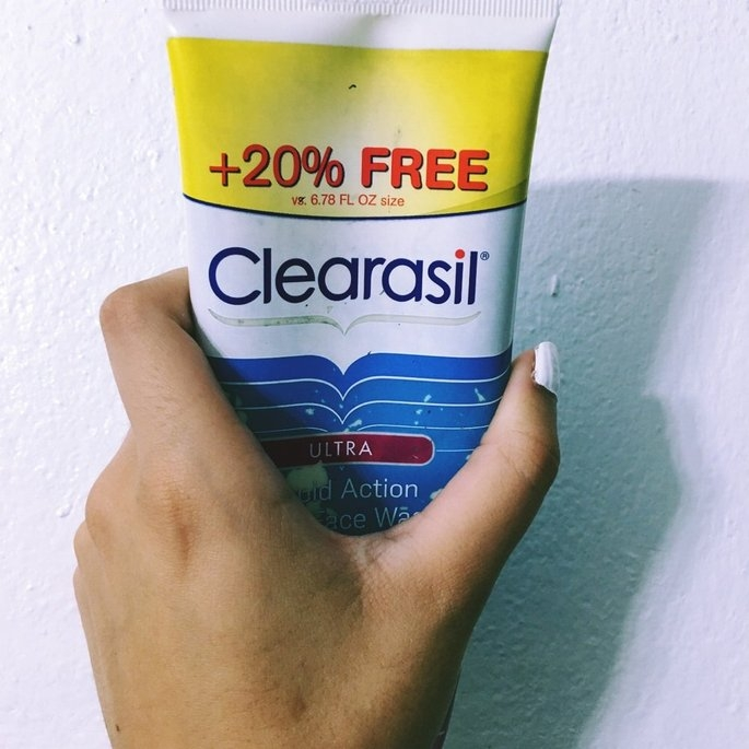 Clearasil Ultra Daily Face Wash Acne Medication uploaded by Kimberley D.