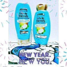 Garnier® Whole Blends™ Coconut Water & Vanilla Milk Extracts Hydrating Shampoo 12.5 fl. oz. Bottle uploaded by Darla H.