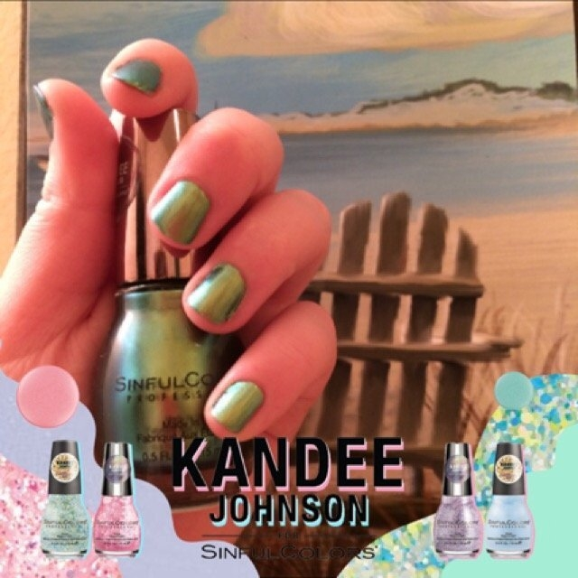 Kandee Johnson for SinfulColors: Anime uploaded by Amethyst T.