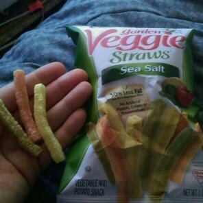 Hain Celestial Sensible Portion Lightly Salted Veggie Straws - 1oz uploaded by Angie H.