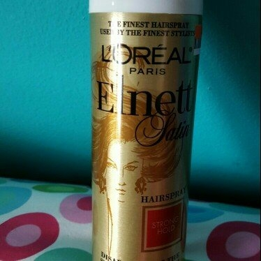 L'Oréal Elnett Satin Hairspray uploaded by Jacqueline S.
