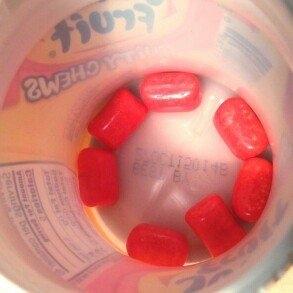 Wrigley's Juicy Fruit Fruity Chews Strawberry Gum uploaded by Sonia M.