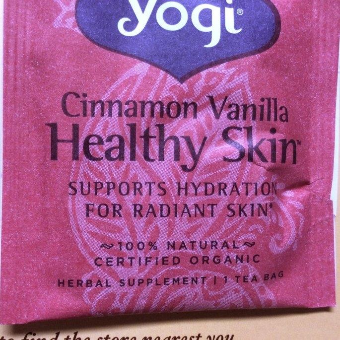 Yogi Tea Cinnamon Vanilla Healthy Skin uploaded by Stephanie S.