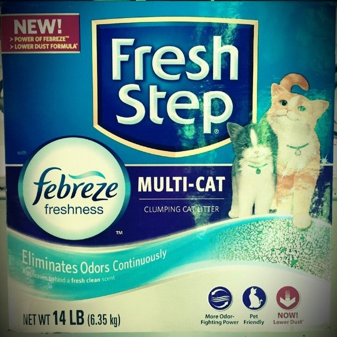 Fresh Step Odor Shield Scoopable Cat Litter Unscented uploaded by Sarah M.