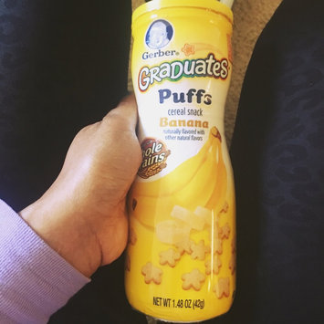 Photo of Gerber® Puffs Peach uploaded by Angel F.