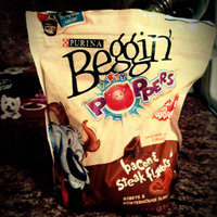 Purina Beggin' Party Poppers Bacon & Steak Flavors Dog Snacks 25 oz. Pouch uploaded by Alexcia A.