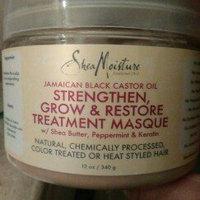 SheaMoisture Strengthen, Grow & Restore Treatment Masque, Jamaican Black Castor Oil, 12 oz uploaded by Maria Eloisa C.