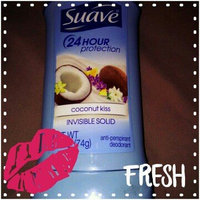 Suave Invisible Solid Antiperspirant Deodorant, Coconut Kiss uploaded by JenniferLyn I.