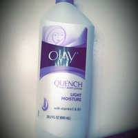 Olay Quench Daily Moisturizing Body Lotion 20.2oz uploaded by Chelsea P.