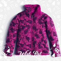 Girl's The North Face 'Mossbud Swirl' Reversible Water Resistant Jacket, Size M (10-12) - Pink uploaded by Dawn R.