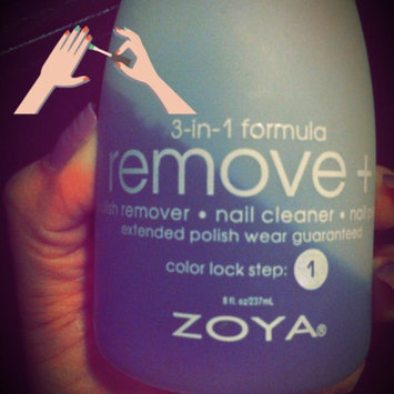 Photo of Zoya Remove Plus Nail Polish Remover uploaded by Yoly O.
