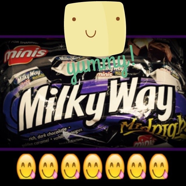 Milky Way Bar Midnight Dark uploaded by Diya P.