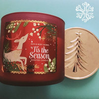 Bath & Body Works 1 X Bath and Body Works Tis the Season 3 Wick 14.5 Oz Candle New for 2014 uploaded by Kathryn A.