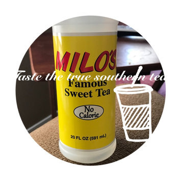 Photo of Milo's Famous Sweet Tea, 20 fl oz uploaded by summer w.