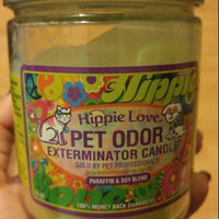 Hippie Love Pet Odor Exterminator Candle uploaded by April H.