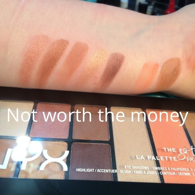 NYX Cosmetics Go-To Palette uploaded by Gretchen L.