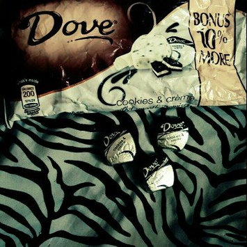 Photo of Dove Chocolate Silky Smooth Promises Cookies & Creme uploaded by Faith D.