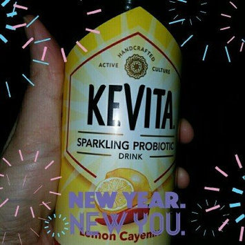 KeVita Delicious Vitality Sparkling Probiotic Drink Lemon Cayenne Cleanse uploaded by Maritza b.