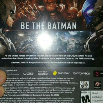Photo of Simply Perfect by Warner's Batman: Arkham Knight (Xbox One) uploaded by Erica S.