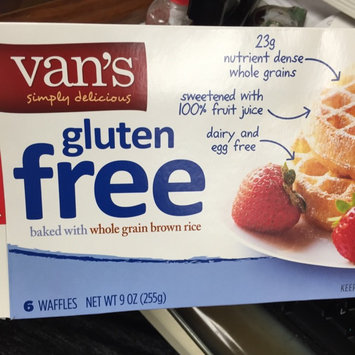 Van's Natural Foods Waffles Wheat - Gluten Free - 6 CT uploaded by Alicia M.