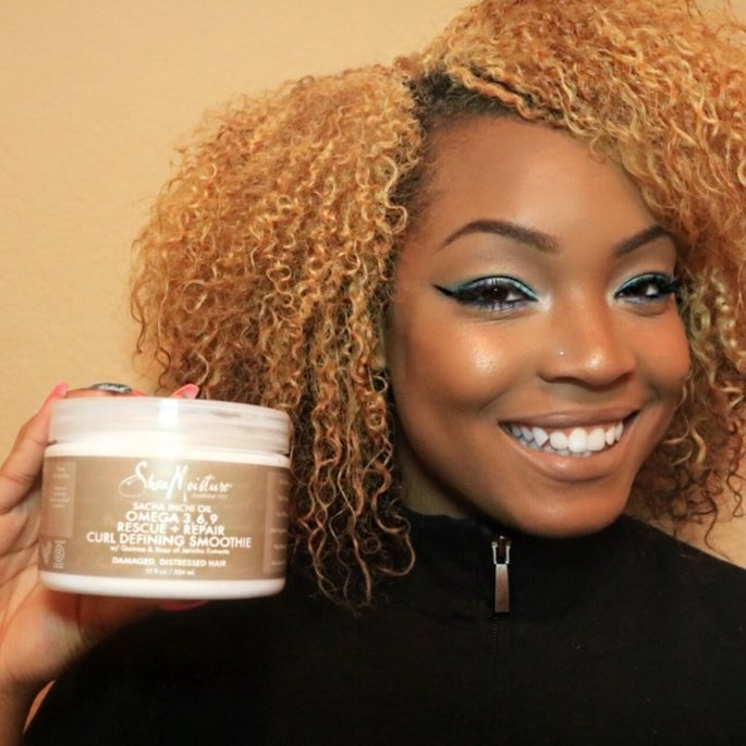 SheaMoisture Sacha Inchi Rescue & Repair Curl Defining Smoothie uploaded by Zahniece M.