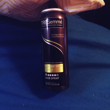 Photo of TRESemmé Extra Firm Control All Day Humidity Resistance Tres Two Spray Extra Hold 4 Non-Aerosol Hair Spray uploaded by Katie B.