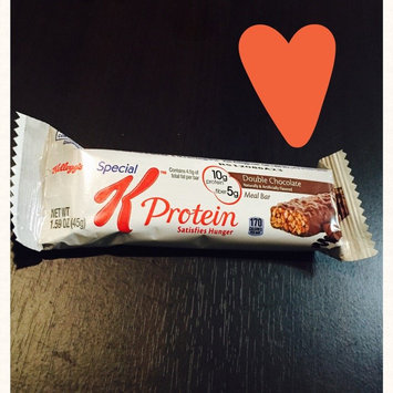 Photo of Special K® Kellogg's Double Chocolate Protein Meal Bar uploaded by Emily W.