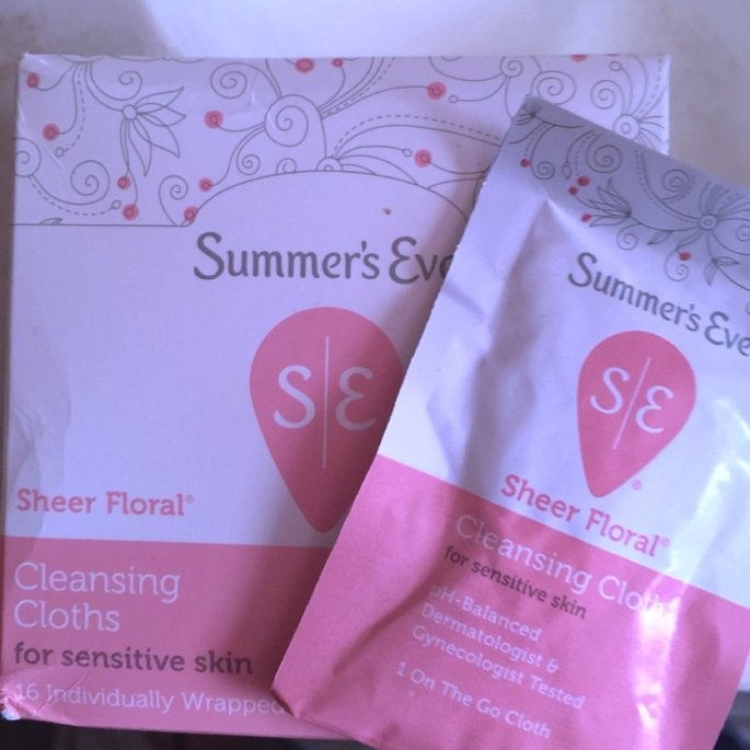 Summer's Eve Cleansing Cloths for Sensitive Skin uploaded by Bianca M.