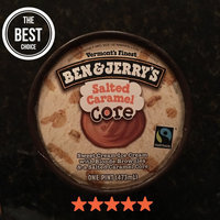 Ben & Jerry's® Salted Caramel Core Ice Cream Sweet Cream uploaded by Harleigh B.