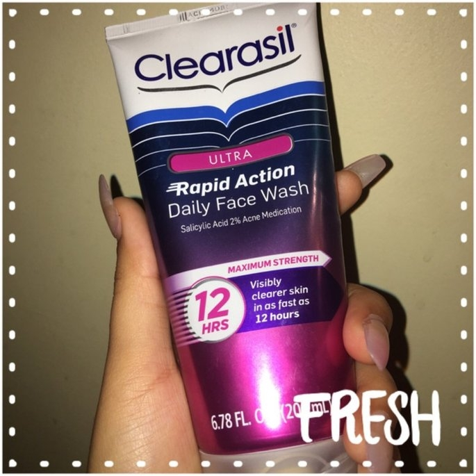 Clearasil Ultra Daily Face Wash Acne Medication uploaded by Caroline M.