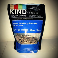 KIND® Vanilla Blueberry Clusters With Flax Seeds uploaded by Kylee M.