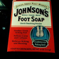 Johnson's Baby Johnson's Foot Soap, Packets - 4 ea uploaded by Benji P.
