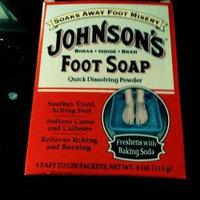 Johnson's Baby Johnson's Foot Soap, Packets - 4 ea uploaded by Benji P.