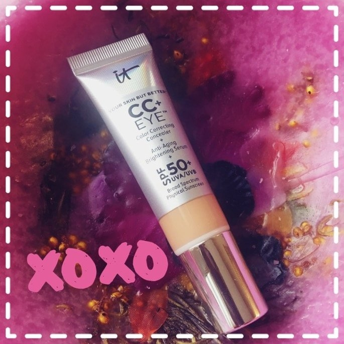 It Cosmetics CC+ Eye Color Correcting Full Coverage Cream Concealer SPF 50+ uploaded by Molly L.