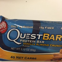 Quest Nutrition - Quest Bar Protein Bar Vanilla Almond Crunch - 2.12 oz. uploaded by Amelia S.