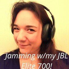 Photo of JBL - Everest Elite 700 Wireless Over-the-Ear Headphones - Black uploaded by Tanya C.