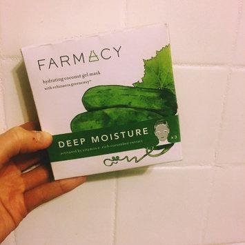 Farmacy Hydrating Coconut Gel Mask - Deep Moisture (Cucumber) 3 masks uploaded by Amanda G.
