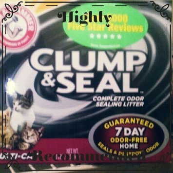 Photo of ARM & HAMMER™ Clump & Seal Complete Odor Sealing Clumping Litter Multi-Cat uploaded by Melissa R.