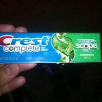 Crest Complete Multi-Benefit Whitening + Scope Minty Fresh Flavor Toothpaste 2.7 oz. Carton uploaded by alondra c.