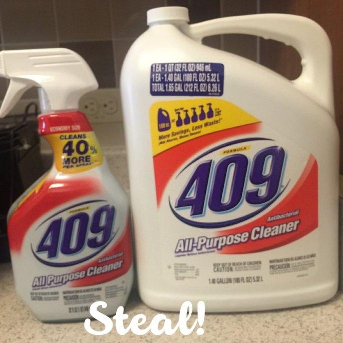 Formula 409 All-Purpose Cleaner Value Pack - 32 fl. oz. Spray Bottle + 180 fl. oz. refill uploaded by Fany S.
