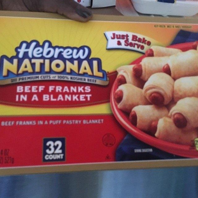 Hebrew National Beef Franks 12 oz uploaded by Moonya D.