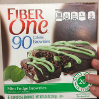 Fiber One 90 Calorie Mint Fudge Brownie uploaded by Cristy T.