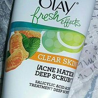 Olay Fresh Effects Clear Skin Acne Hater Scrub Salicylic Acid Acne Treatment Deep Scrub uploaded by Charlie J.