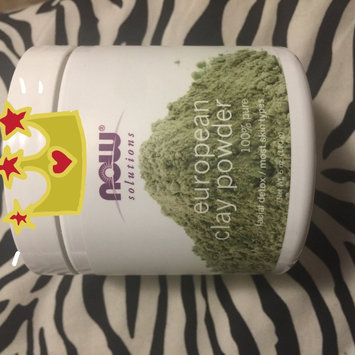 Photo of NOW Foods Solutions European Clay Powder - 6 oz uploaded by Jojo A.